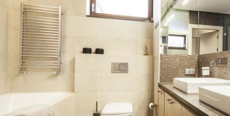 badkamer verwarming in Wervik
