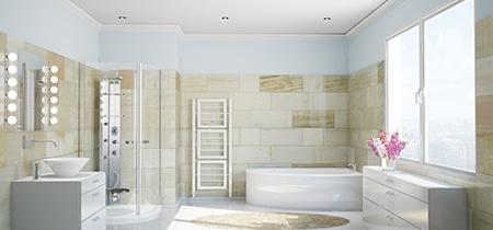 ikea badkamer installatie
