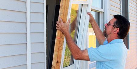 ramen vervangen in Vilvoorde
