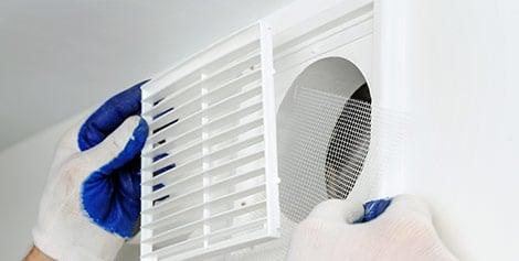 ventilatie badkamer Affligem